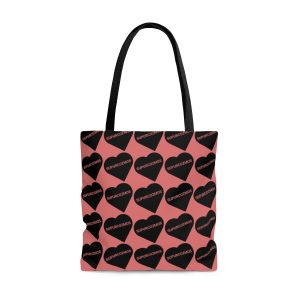 SUPURCOZMOS SWEETHEART PINK TOTE BAG